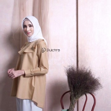 DWYN BLOUSE HONEY