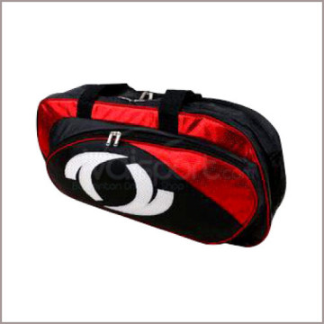Tas Raket Astec Square Bag ABS-002/A (Black/Red) image