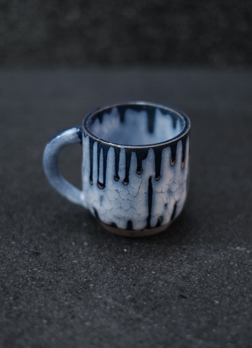 SNOW MUG IN BLUE 150 ml