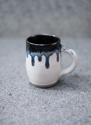 White Ice Melted Mug