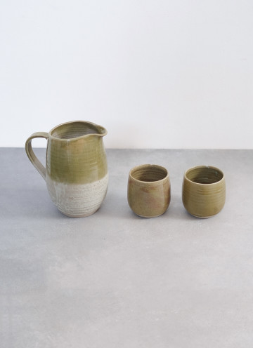 OLIVE MEADOW JUG SET