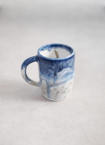 Ice Cloud Melted Mug