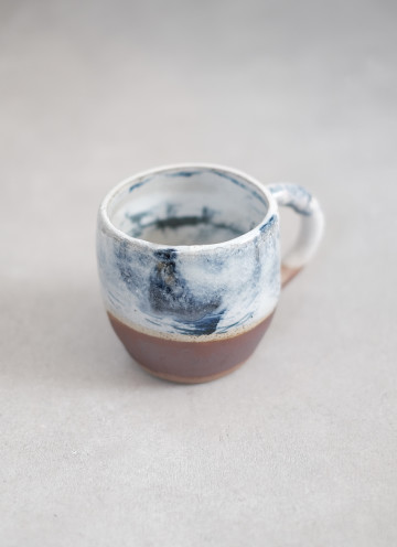 CLOUD WOOD MUG