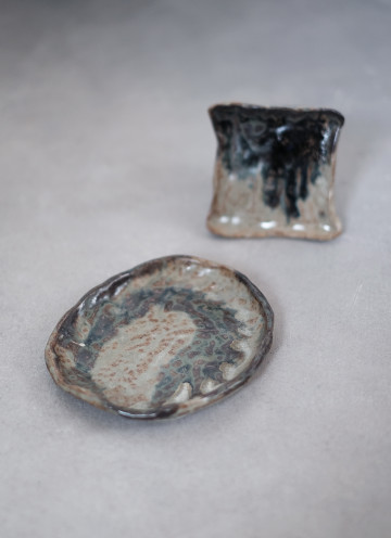 Dolomite Pinch Plate Set of Two
