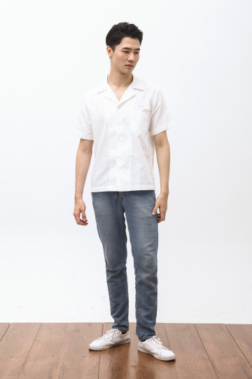 Pyama Shirt in White
