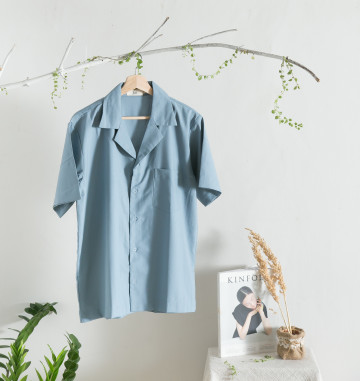 Pyama Shirt in Blue