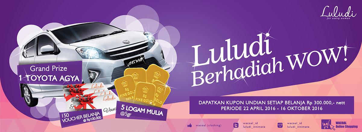 Luludi Berhadiah Wow