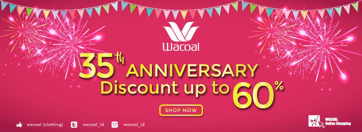Wacoal Anniversary 60%