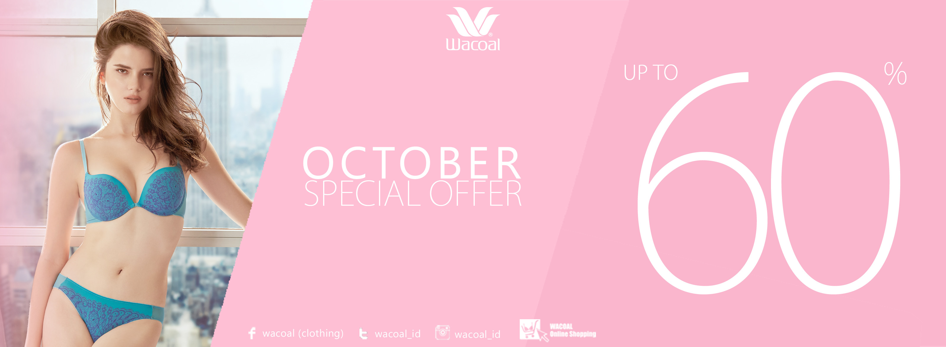 Wacoal octber special offer