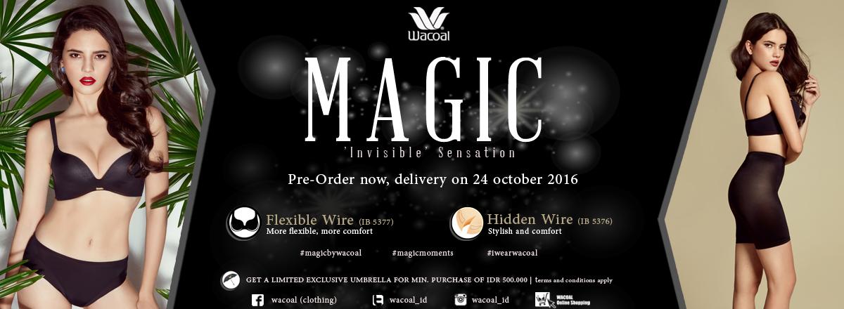 Wacoal magic Collection