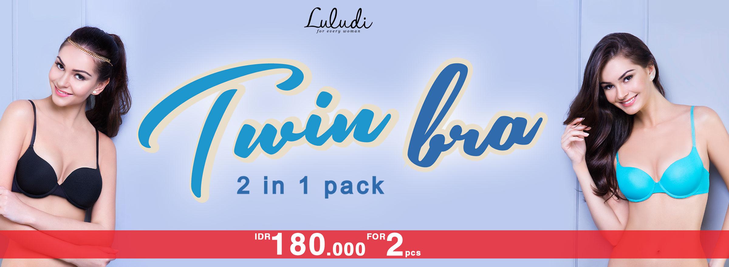 Luludi Twin Bra