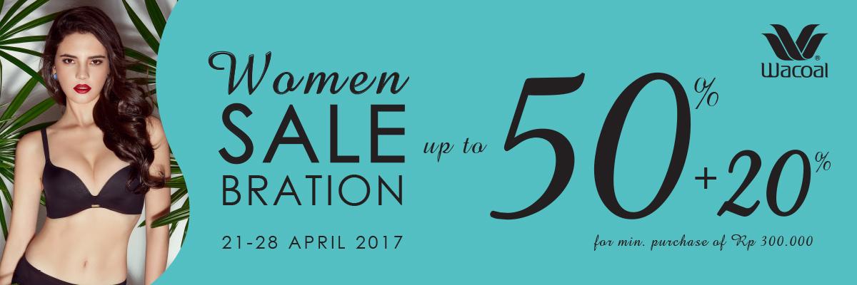 WOMAN SALEBRATION 2017