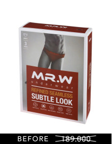 WMP 70002B ( BRIEFS ) - ISI 3 PCS