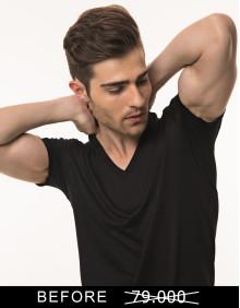 MR.W V-Neck Shirt WMS 70002