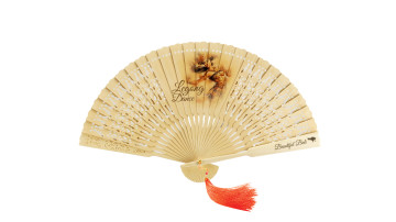 Traditional Fan Print Legong Dance image