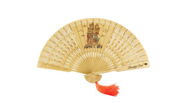 Traditional Fan Print Rama & Sita image
