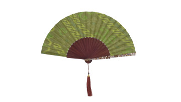 Sea Shell Fan Motive Green image