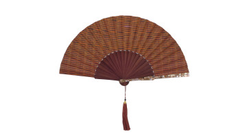 Sea Shell Fan Motive Dark Brown image