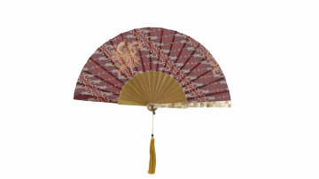 Sea Shell Fan Motive Red image