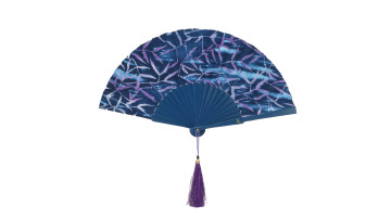 Motive Silk Fan Blue image