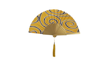 Motive Silk Fan Yellow image
