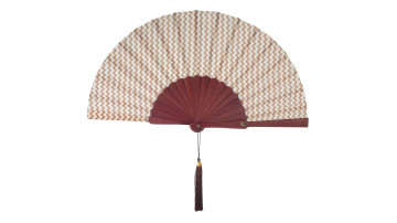 Motive Silk Fan Light Brown image