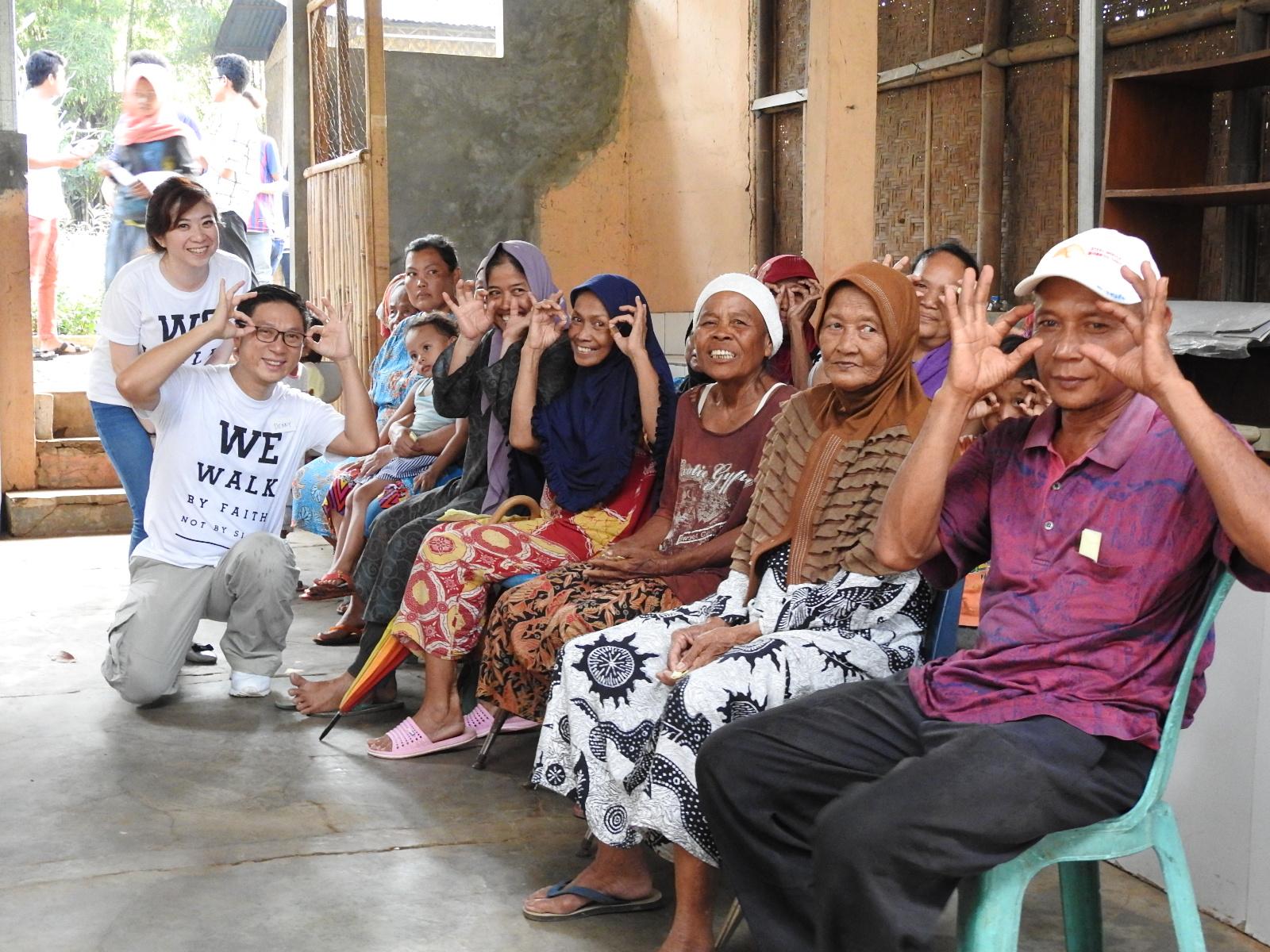 Bakti Sosial VI - 1000 Mata Anak Bangsa Melihat Terang - TPA Bintara Jaya Bekasi image