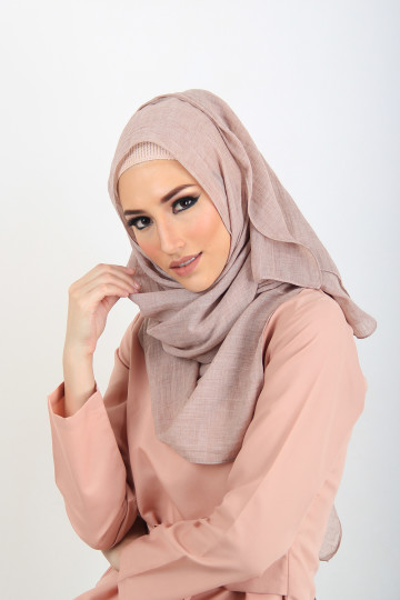 Pashmina Voile Brown Red image
