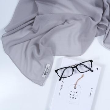 Cotton Voal Grey image