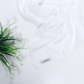 Cotton Voal White image