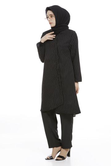 Lina Tunic Black image