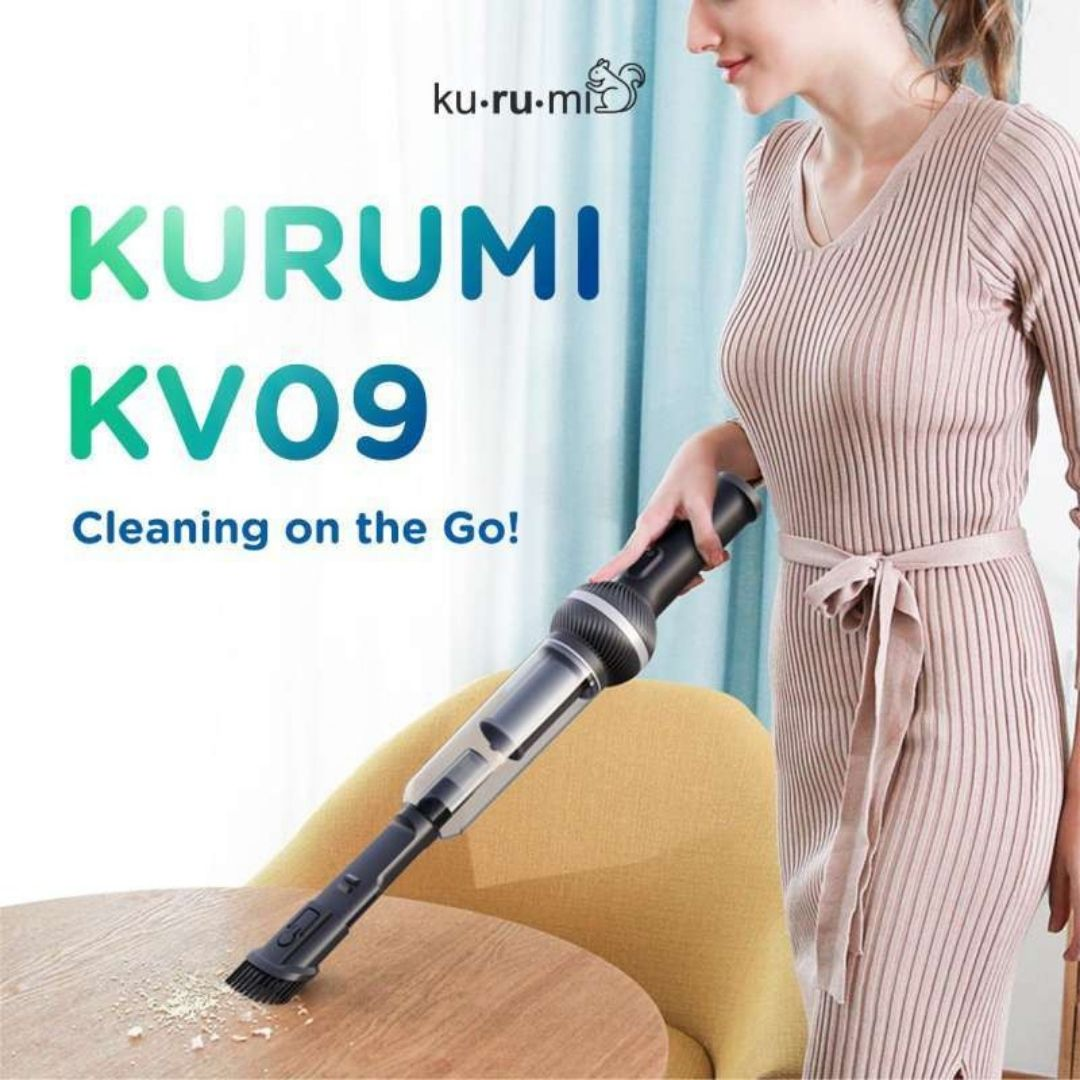 KURUMI KV09 CORDLESS CAR VACUUM CLEANER PORTABLE image