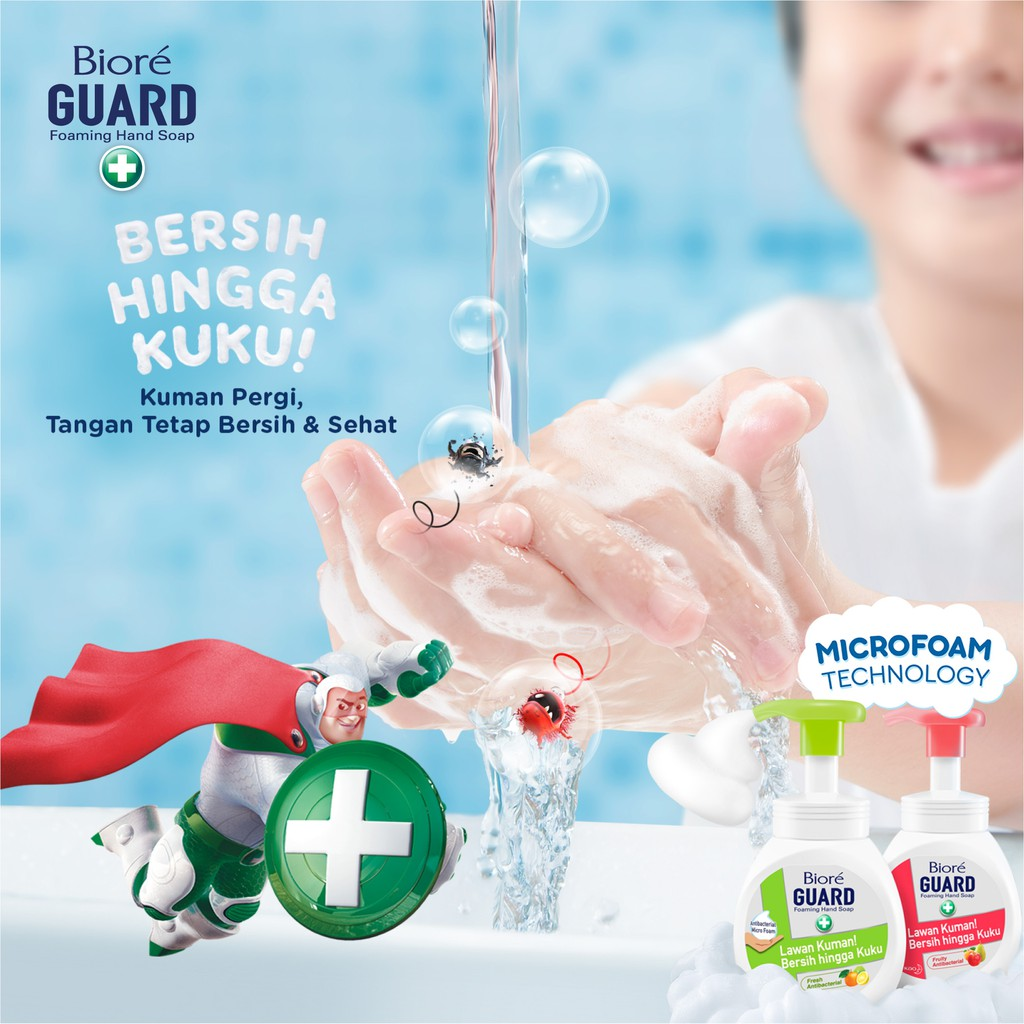 Biore Guard Foaming Hand Soap Antibacterial 250ml