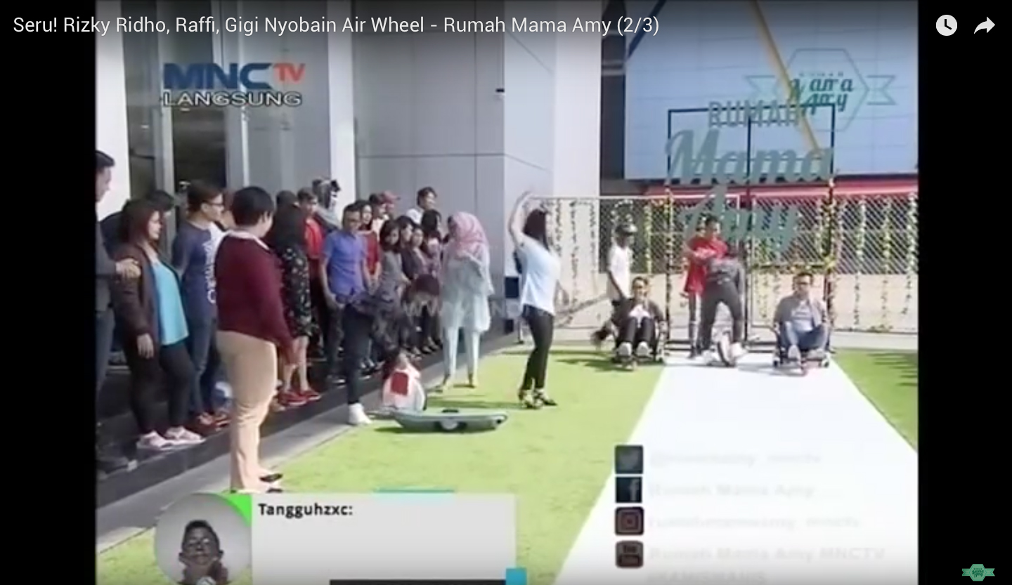 Youtube - Rumah Mama Amy - Airwheel Indonesia