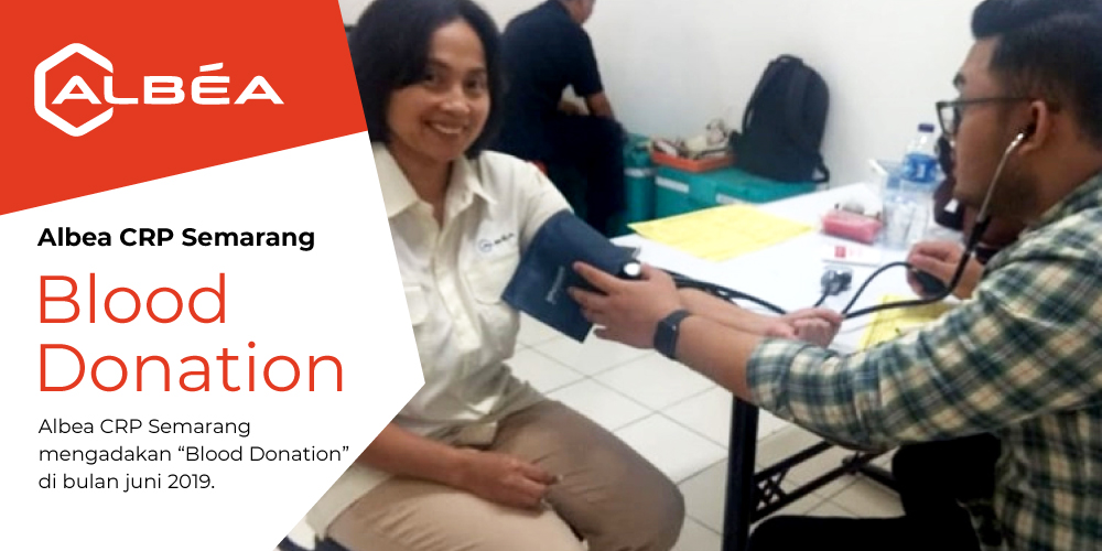 Albea CRP Semarang - Blood Donation, June 2019 image