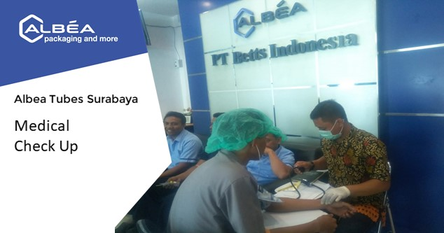 Medical Check Up Albea Tubes Surabaya image