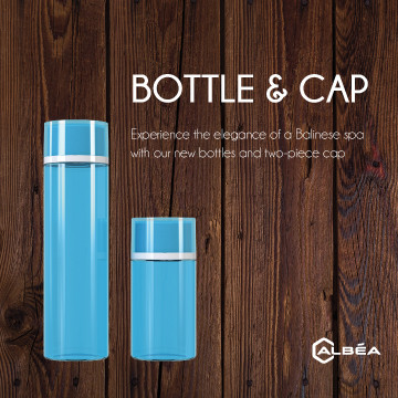 Two Pieces Cap Bottle