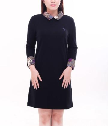 Dakota Long Sleeve Dress Black