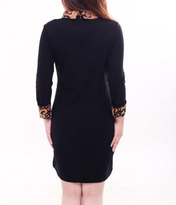 Eden Long Sleeve Dress Black