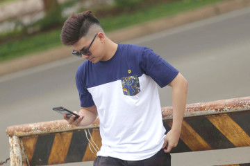 Bior T-Shirt Navy