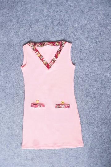 Vlare Dress Carnelian Pink