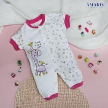 Baju Bayi - Romper Bayi Cewe Amaris - Topi Slaber Sarung Tangan Kaki