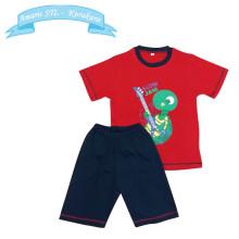 Kaos Anak - Baju Setelan Anak Laki Laki - Setelan Main - Motif Kura
