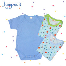 Amaris Jumpsuit Baby Boys - Baju Bayi Lucu 3-6 Bulan - Jumper Set Isi 3