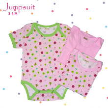Amaris Jumpuit Baby Girls - Baju Bayi Lucu 3-6 Bulan - Jumper Set Isi 3