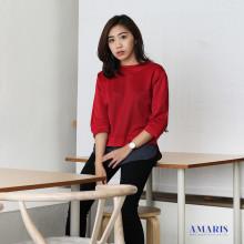 Blouse Wanita - Baju Atasan Cewek - List Lengan Panjang - Z16917