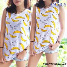 Singlet Wanita - Singlet Motif Banana - Banana3 - Amaris Fashion
