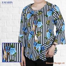 Blouse Wanita - Baju Atasan Wanita - Motif Roses - #E1