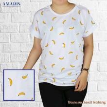 Baju Atasan Wanita - Batwing Banana 1 - Kaos Cewek - Amaris Fashion