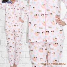 Piyama Cewek - Baju Tidur - Motif Tsum Tsum - Amaris Fashion